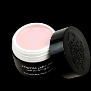 Kostka color gel no sticky layer light rose